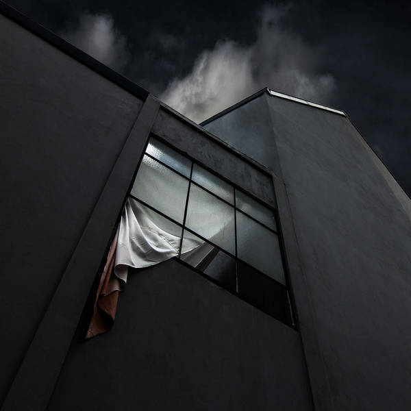 Stores Photograph - The Broken Window by Gilbert Claes
