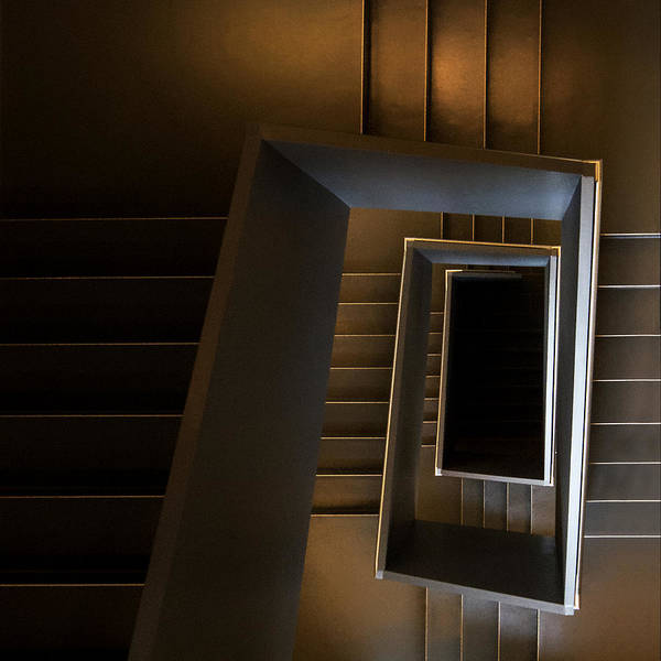 Stairs Wall Art - Photograph - The Brown Sugar Staircase by Gerard Jonkman