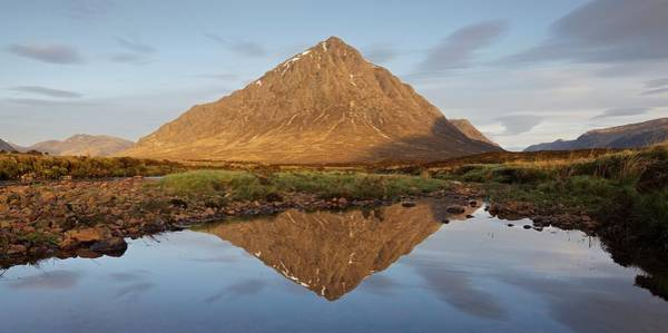 Photograph - The Buachaille Reflected by Stephen Taylor