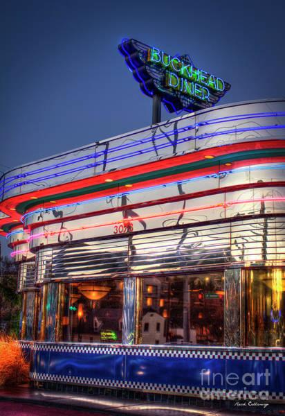 Photograph - The Buckhead Diner 2 The Buckhead Diner Collection Atlanta Buckhead Art by Reid Callaway