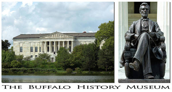 Abe Photograph - The Buffalo History Museum by Peter Chilelli