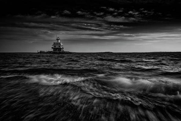 East County Photograph - The Bug Light, Greenport Ny by Rick Berk