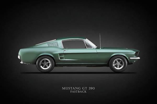 Ford Mustang Photograph - The Bullitt Mustang by Mark Rogan