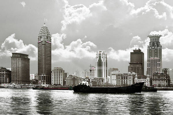 Photograph - The Bund - Old Shanghai China - A Museum Of International Architecture by Christine Till