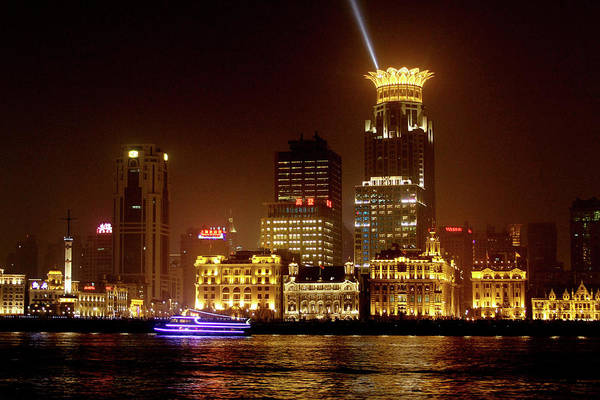 Photograph - The Bund - Shanghai's Magnificent Historic Waterfront by Christine Till
