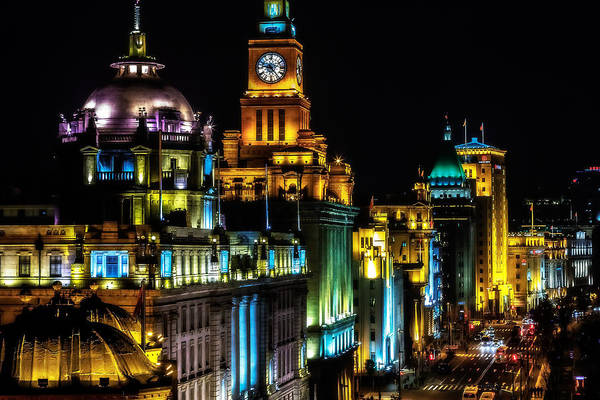 Photograph - The Bund by Jason Roberts