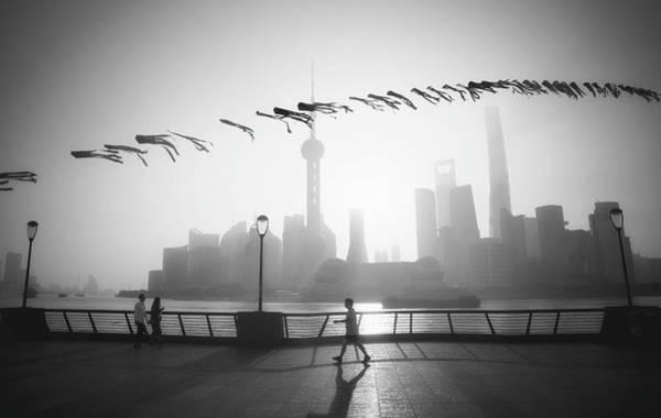 Photograph - The Bund Shanghai by Matt Shiffler