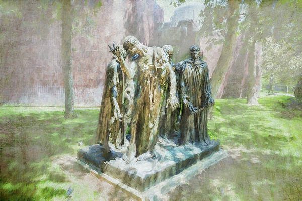 Photograph - The Burghers At Norton Simon by Belinda Greb