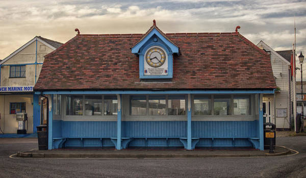 Essex Photograph - The Bus Stop by Martin Newman