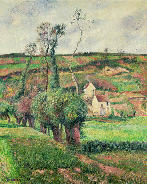 Wall Art - Painting - The Cabbage Slopes by Camille Pissarro