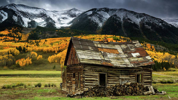 Photograph - The Cabin In Crested Butte by John De Bord