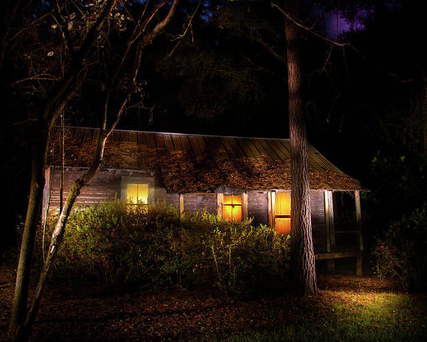 Cabin In The Woods Wall Art - Photograph - The Cabin In The Woods by Mark Andrew Thomas
