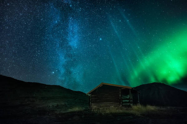 Cabin Photograph - The Cabin by Tor-Ivar Naess