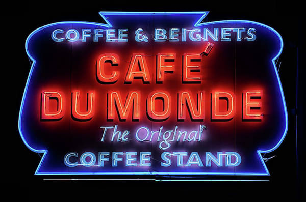 Photograph - The Cafe Du Monde by JC Findley