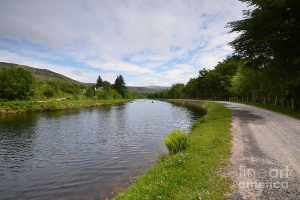 Highland Photograph - The Caledonian Canal by Smart Aviation