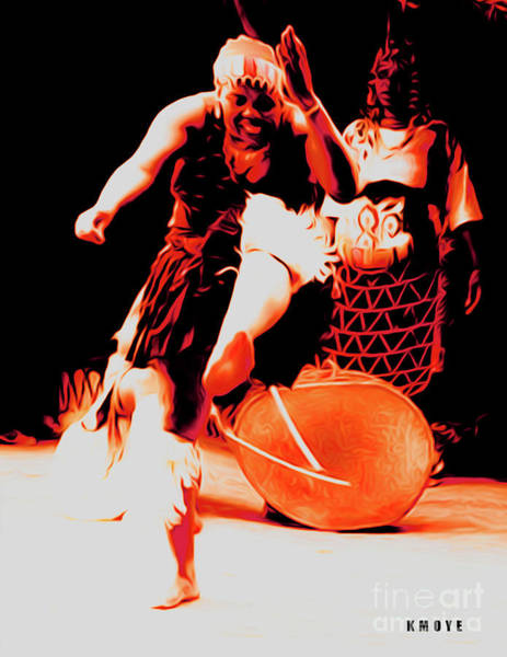 Tribal Dance Digital Art - The Calling by Kanisha Moye