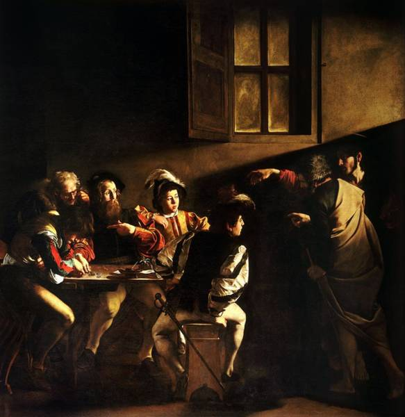 Summoning Painting - The Calling Of St Matthew by HQ Art