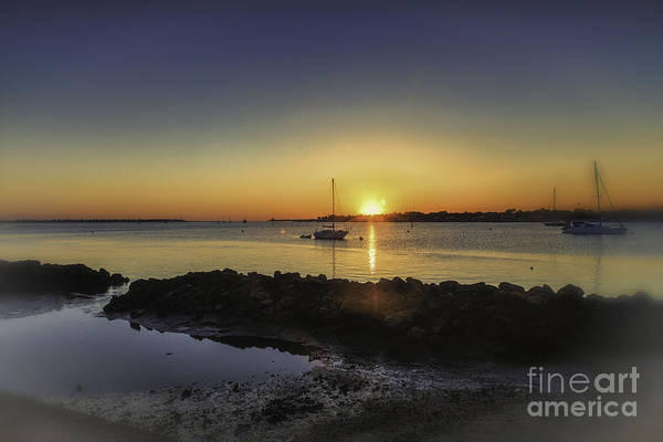 Photograph - The Calm At Sunrise by Mary Lou Chmura