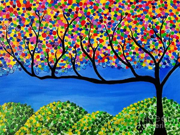 Painting - The Calming Tree  by Shawn Christopher Mooney