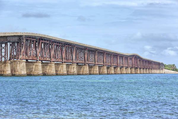 Photograph - The Camelback Bridge In The Florida Keys by John M Bailey