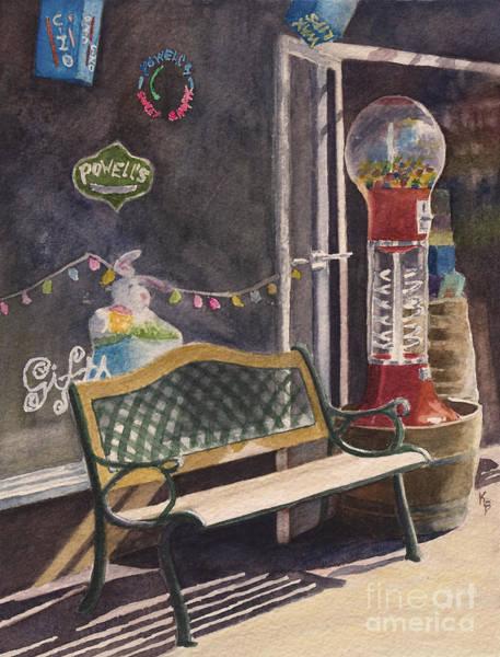 Painting - The Candy Shop by Karen Fleschler
