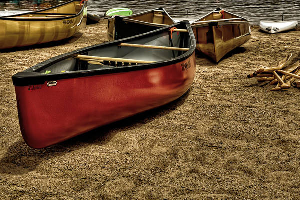 Photograph - The Canoes by David Patterson
