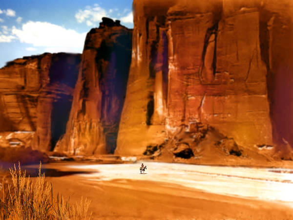 Wall Art - Painting - The Canyon by Paul Sachtleben
