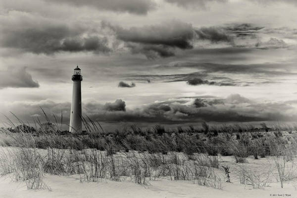 Cape May Lighthouse Photograph - The Cape by Scott Wyatt