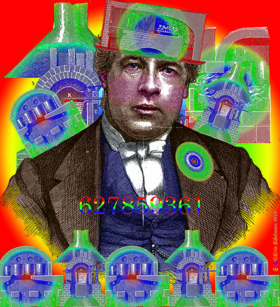 Digital Art - The Capitalist by Eric Edelman