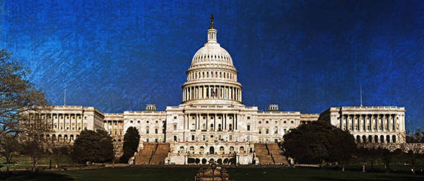 Photograph - The Capitol by Artistic Panda