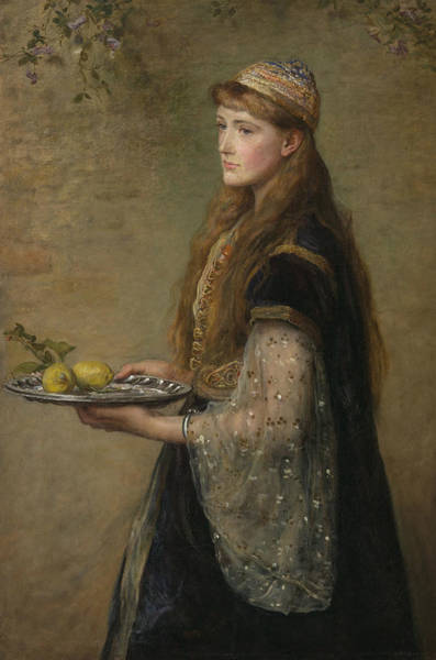 Pre-raphaelite Brotherhood Painting - The Captive  by John Everett Millais