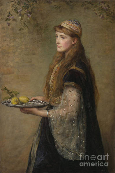 Millais Painting - The Captive by MotionAge Designs