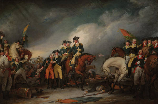 Wall Art - Painting - The Capture Of The Hessians At Trenton Dec 26, 1776 by John Trumbull