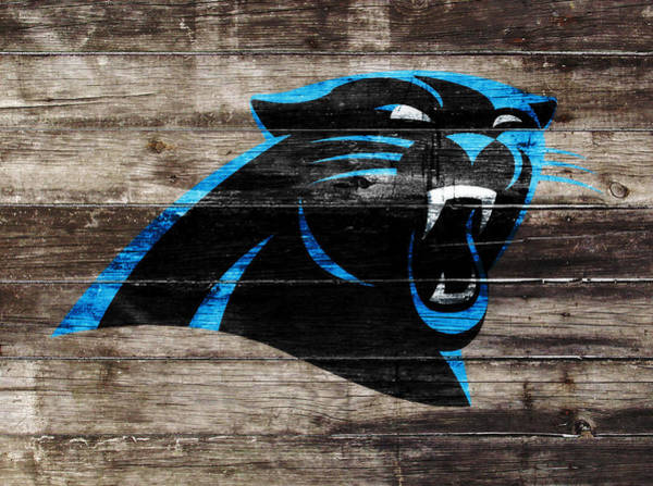 Aaron Rodgers Mixed Media - The Carolina Panthers W6 by Brian Reaves
