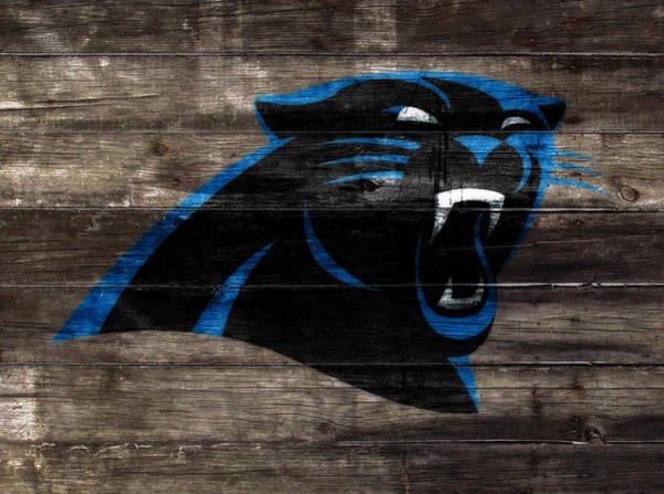Aaron Rodgers Mixed Media - The Carolina Panthers W8 by Brian Reaves