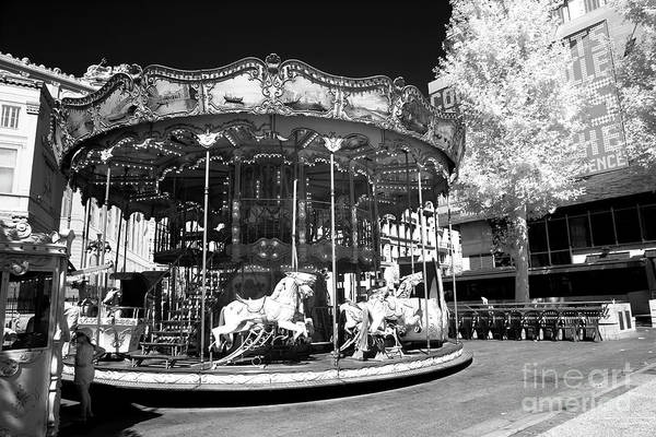 Photograph - The Carousel by John Rizzuto