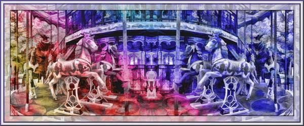 Lisbon Digital Art - The Carousel Of Alice   by Daniel Arrhakis