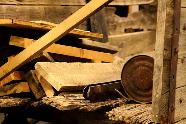 Photograph - The Carpenter's Cart by Colleen Cornelius