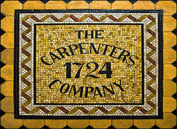 Wall Art - Photograph - The Carpenters Company by Stephen Stookey