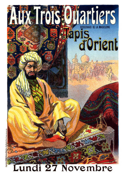Wall Art - Painting - The Carpets Of Orient by Long Shot