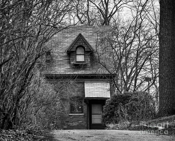 Photograph - The Carriage House In Black And White by Kirt Tisdale
