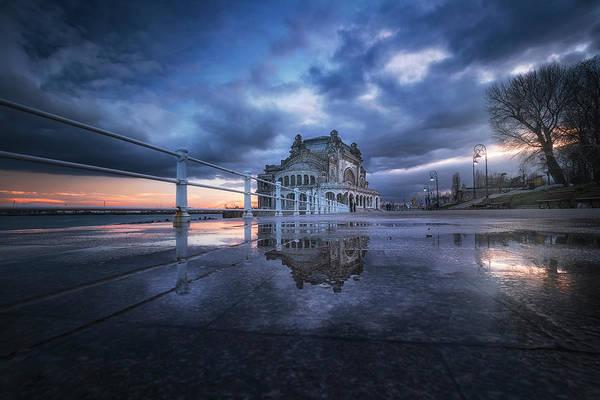 Wall Art - Photograph - The Casino Reflection by Adrian Malanca