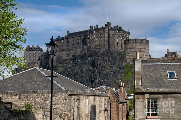 Edinburgh Photograph - The Castle by Marion Galt