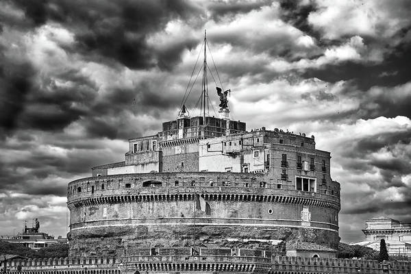 Photograph - The Castle Of Sant'angelo In Rome by Fine Art Photography Prints By Eduardo Accorinti