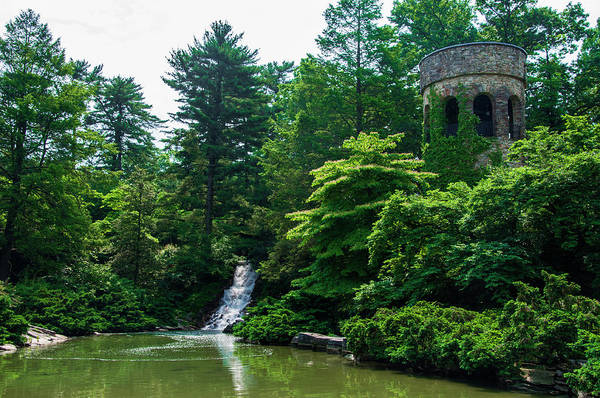 Longwood Gardens Photograph - The Castle Tower At Longwood Gardens by Bill Cannon