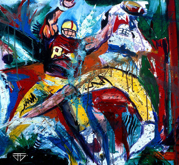 Painting - The Catch by John Jr Gholson