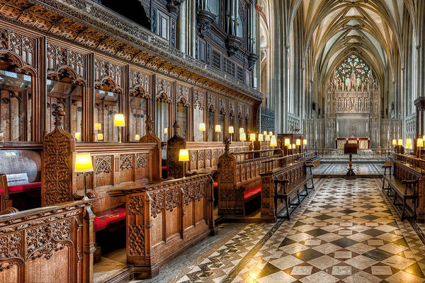 Catholic Church Photograph - The Cathedral  by Adrian Evans