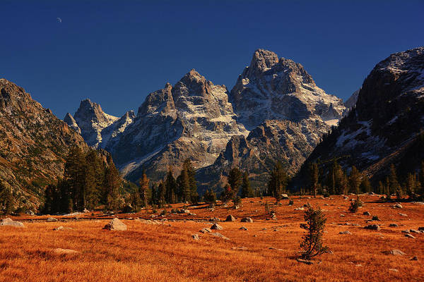 Photograph - The Cathedral Group From Cascade Canyon by Raymond Salani III