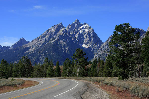Photograph - The Cathedral Group Of The Teton Range by Aidan Moran