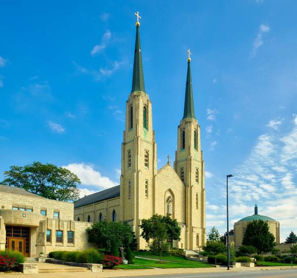 Roman Fort Photograph - The Cathedral Of The Immaculate Conception by Mountain Dreams